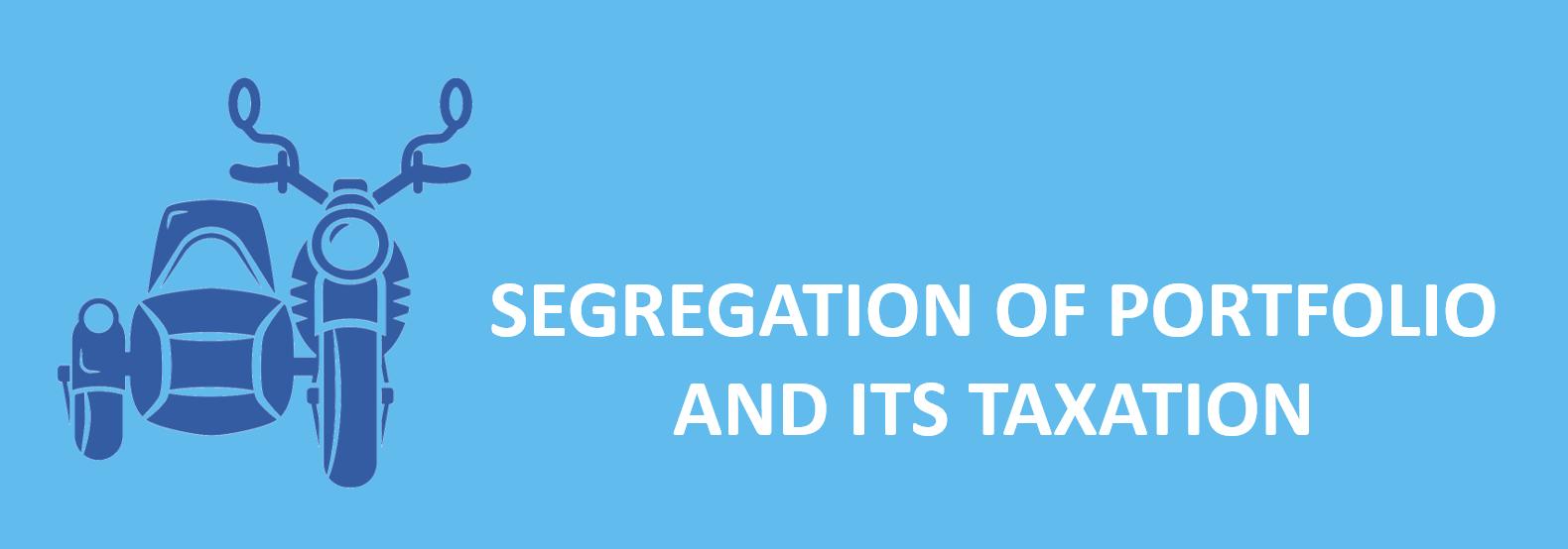 segregation of portfolio